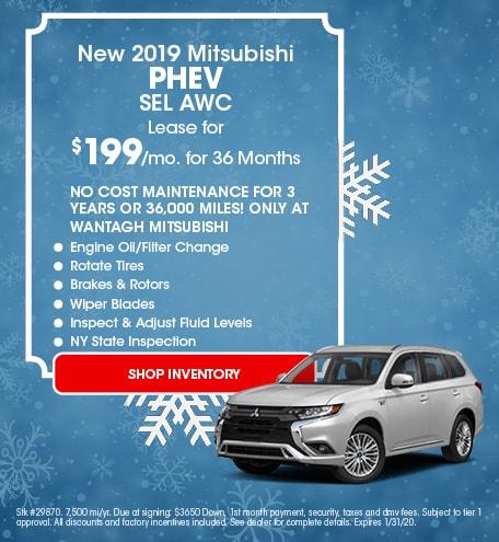 New 2019 Mitsubishi Outlander PHEV | Lease
