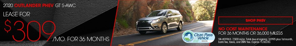 New 2020 Mitsubishi Outlander PHEV | Lease