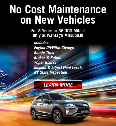 No Cost Maintenance On New Vehicles