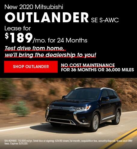 New 2020 Mitsubishi Outlander | Lease