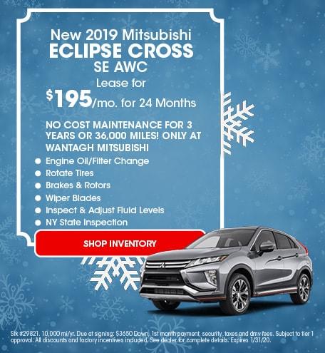 New 2019 Mitsubishi Eclipse Cross SE AWC | Lease