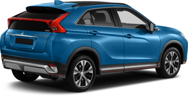 2018 Mitsubishi Eclipse Cross Rear