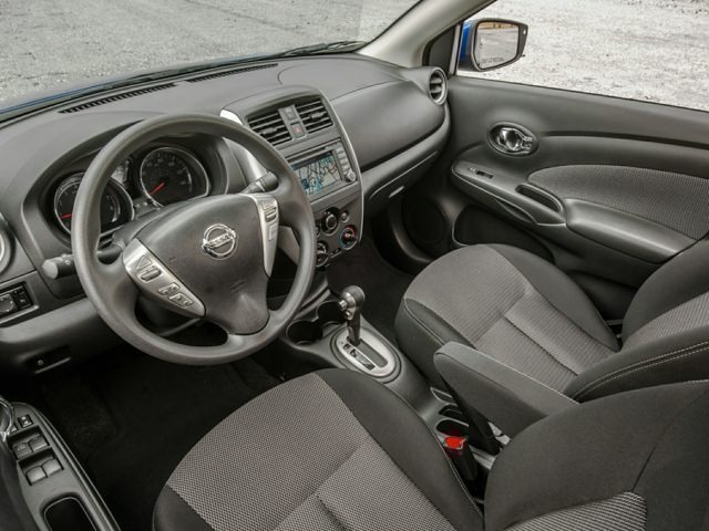 inside the new 2017 Nissan Versa