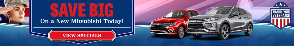 Save Big On a New Mitsubishi Today!