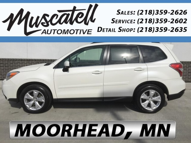 Certified Used 2016 Subaru Forester 2.5i Limited SUV in Moorhead