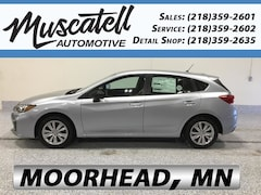 New 2019 Subaru Impreza 2.0i 5-door 4S3GTAB60K3722440 for sale in Moorhead, MN