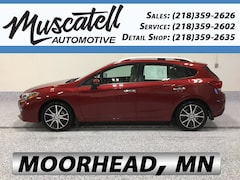 Used 2017 Subaru Impreza 2.0i Limited Hatchback for sale in Moorhead, MN at Muscatell Subaru