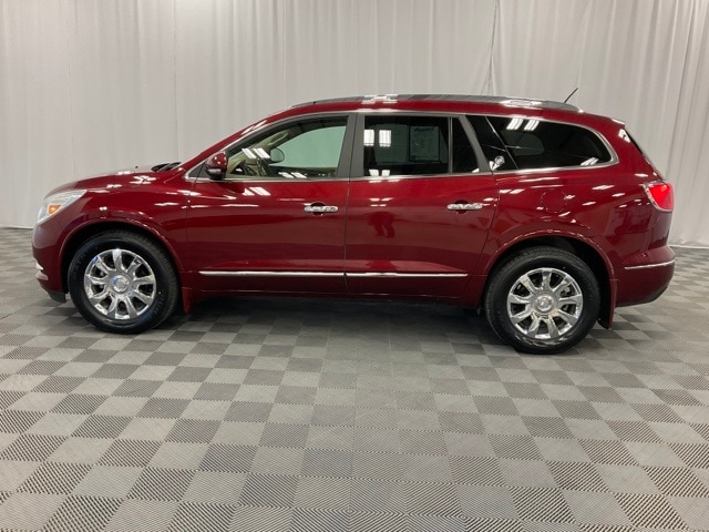 Used 2017 Buick Enclave Premium with VIN 5GAKRCKD8HJ125867 for sale in Moorhead, Minnesota