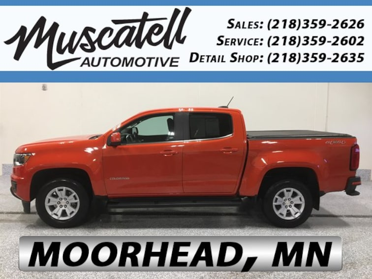 Used 2016 Chevrolet Colorado LT Truck for sale in Moorhead, MN at Muscatell Subaru