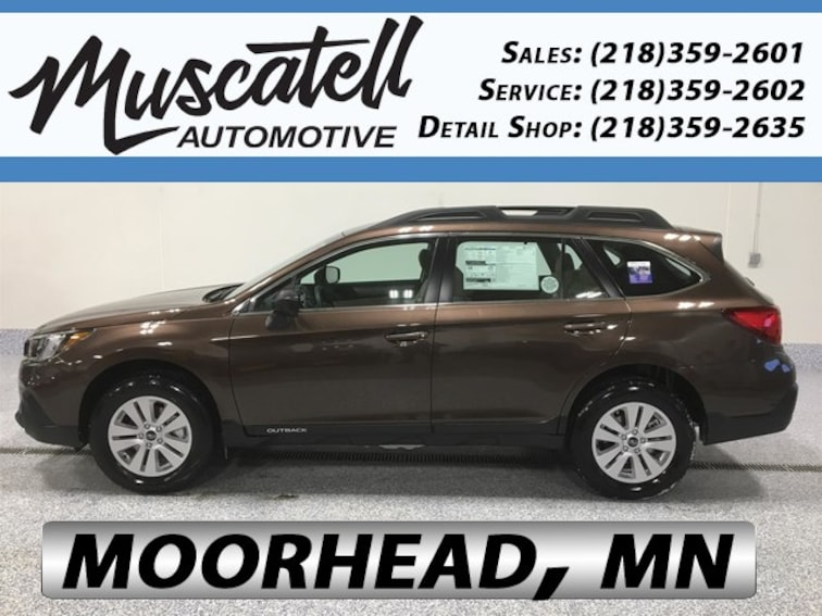 New 2019 Subaru Outback 2.5i SUV for sale in Moorhead, MN at Muscatell Subaru
