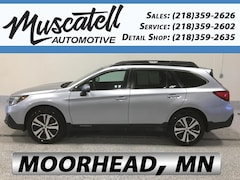 Used 2018 Subaru Outback 2.5i Limited SUV 4S4BSANC4J3309039 for sale in Moorhead, MN at Muscatell Subaru