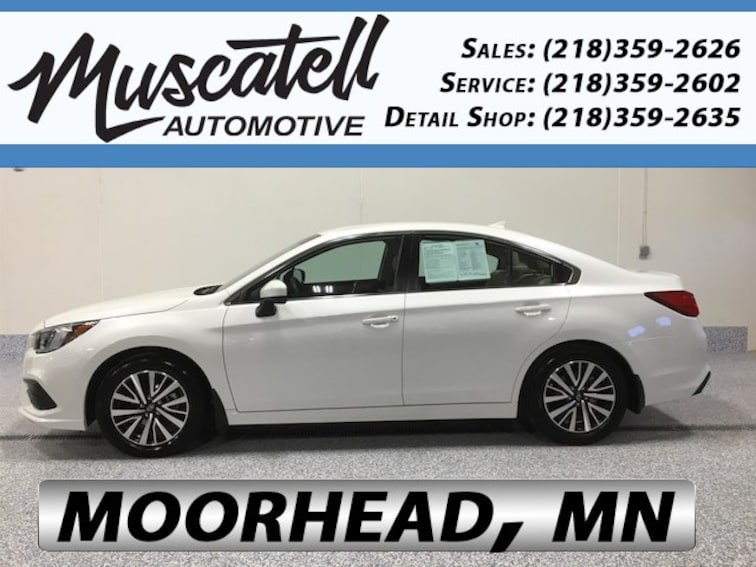 Used 2018 Subaru Legacy 2.5i Premium Sedan for sale in Moorhead, MN at Muscatell Subaru