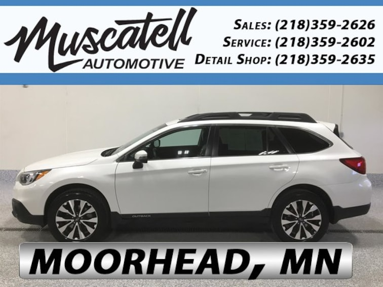 Certified Used 2016 Subaru Outback 3.6R Limited SUV in Moorhead