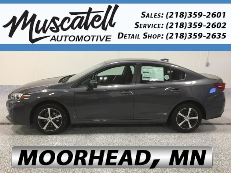 New 2019 Subaru Impreza 2.0i Premium Sedan for sale in Moorhead, MN at Muscatell Subaru