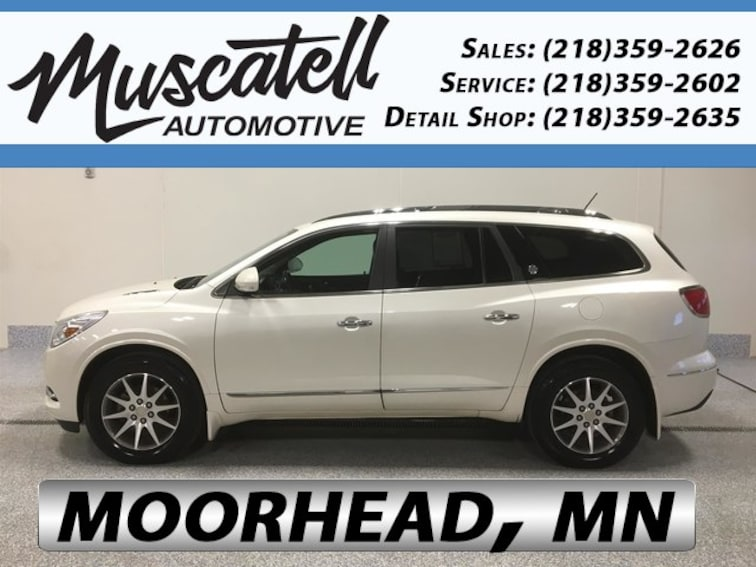 Used 2015 Buick Enclave Leather SUV for sale in Moorhead, MN at Muscatell Subaru