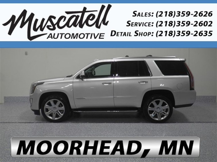 Used 2018 Cadillac Escalade Luxury SUV for sale in Moorhead, MN at Muscatell Subaru