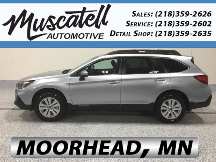 Used 2018 Subaru Outback 2.5i Premium SUV for sale in Moorhead, MN at Muscatell Subaru