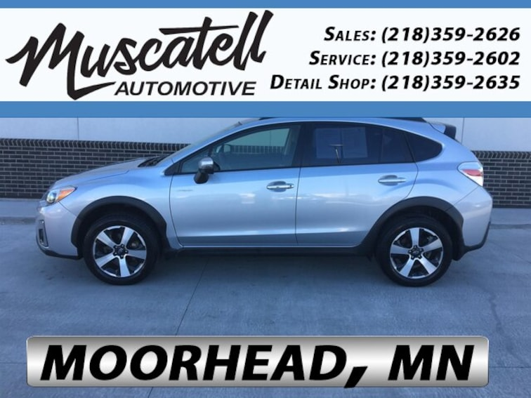 Certified Used 2016 Subaru Crosstrek Hybrid Touring SUV in Moorhead