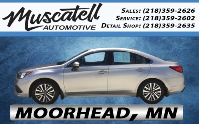 Certified Used 2018 Subaru Legacy 2.5i Premium Sedan in Moorhead