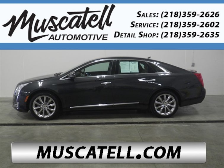 Used 2014 Cadillac Xts Luxury Graphite Metallic For Sale Near Fargo