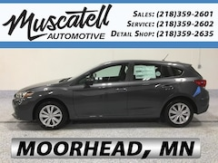 New 2019 Subaru Impreza 2.0i 5-door 4S3GTAA67K3721741 for sale in Moorhead, MN