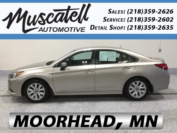 Certified Used 2017 Subaru Legacy 2.5i Premium Sedan in Moorhead