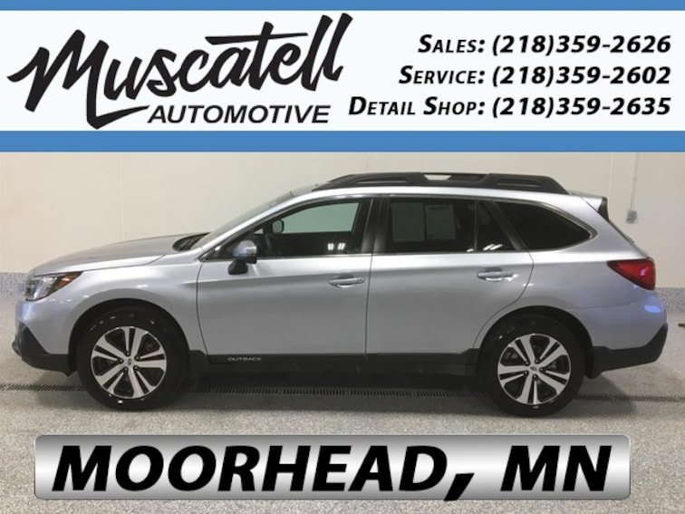 Used 2018 Subaru Outback 2.5i Limited SUV for sale in Moorhead, MN at Muscatell Subaru