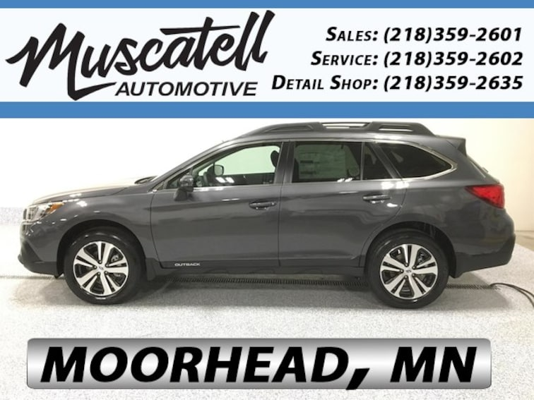 New 2019 Subaru Outback 2.5i Limited SUV for sale in Moorhead, MN at Muscatell Subaru