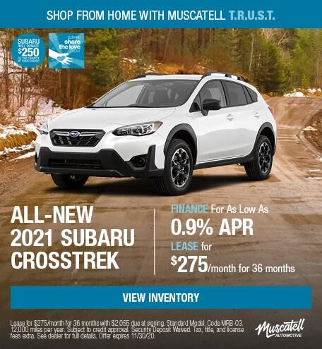 All-New 2021 Subaru Crosstrek