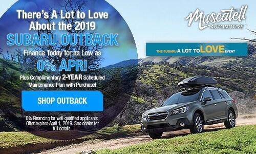 March Special - 2019 Subaru Outback