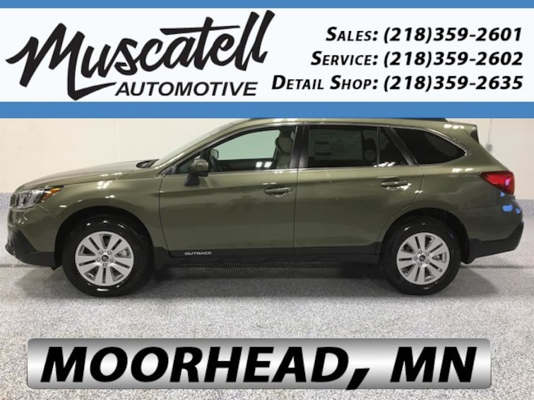 New 2019 Subaru Outback 2.5i Premium SUV for sale in Moorhead, MN at Muscatell Subaru