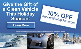 10% OFF Reconditioning Services