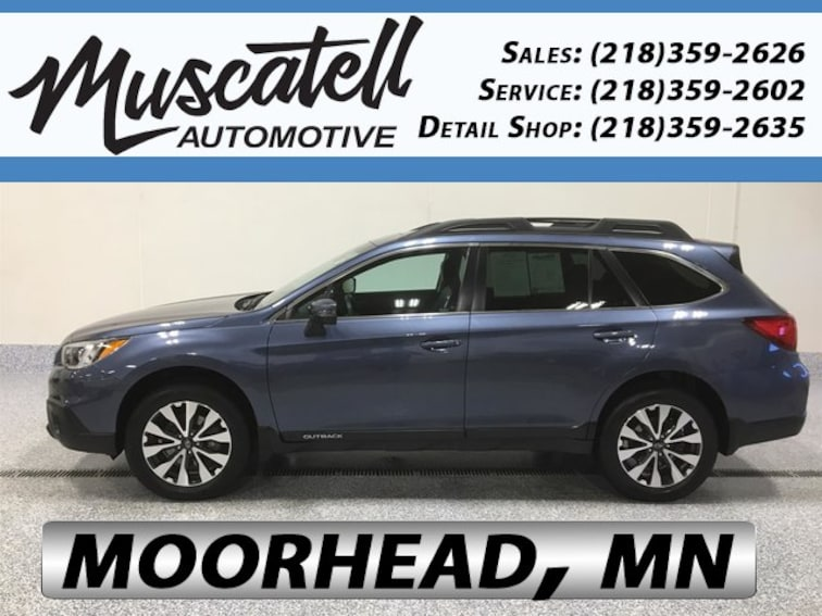 Used 2017 Subaru Outback 2.5i Limited SUV for sale in Moorhead, MN at Muscatell Subaru