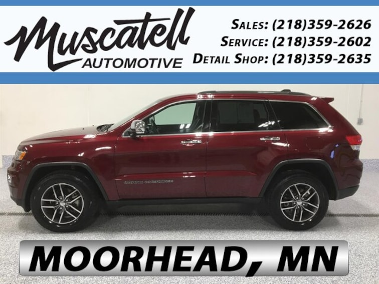 Used 2017 Jeep Grand Cherokee Limited Velvet Red Pearlcoat For