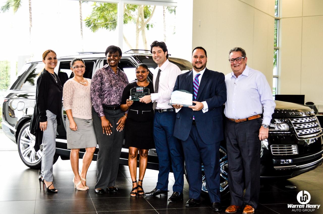 Warren Henry Auto Group | Warren Henry Honored as