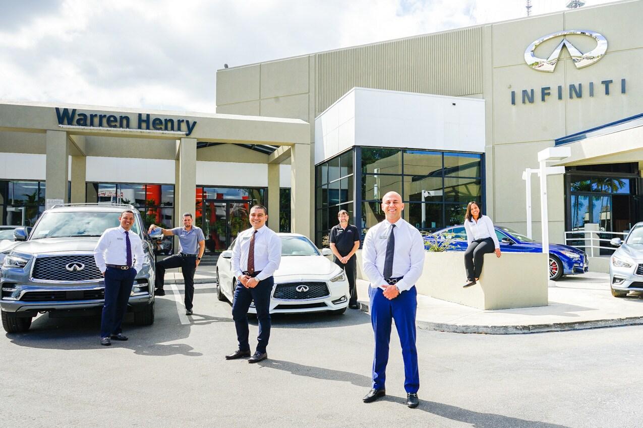 Warren Henry INFINITI New INFINITI Dealership In Miami FL - Infiniti dealerships florida