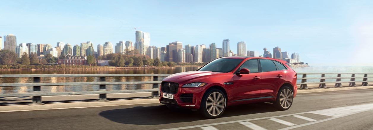 the New Jaguar F-Pace