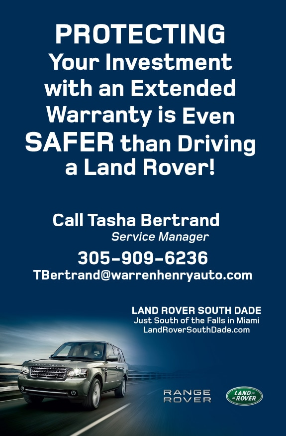 Extended Warranties Land Rover South Dade