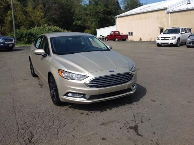 New 2018 Ford Fusion SE Sedan in Warren, PA