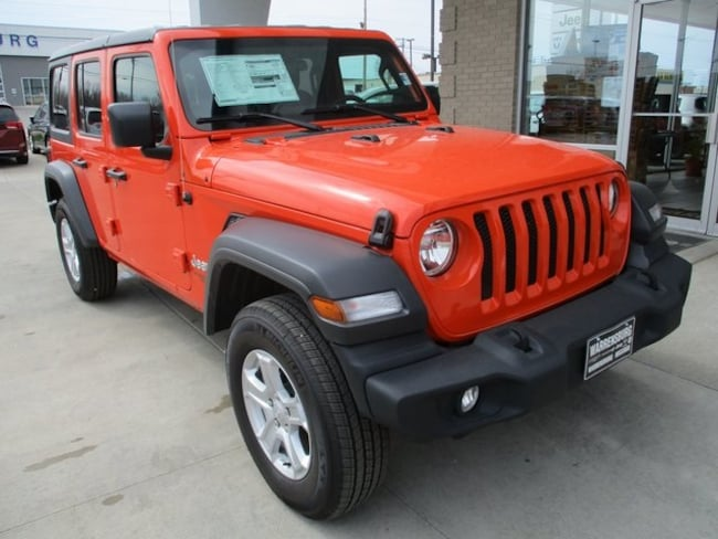 2019 New Jeep Wrangler UNLIMITED SPORT S 4X4 For Sale | Warrensburg