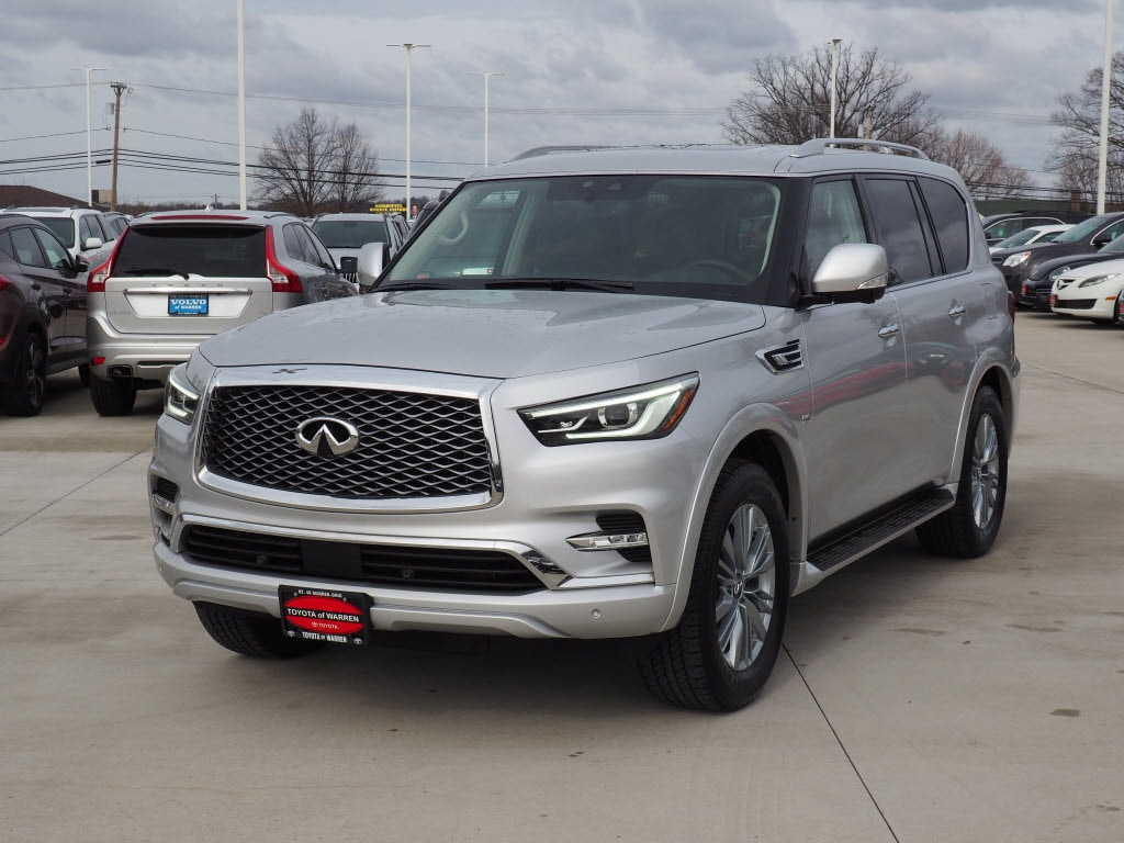 Pre-Owned 2019 INFINITI QX80 Luxe SUV for sale in Warren, OH