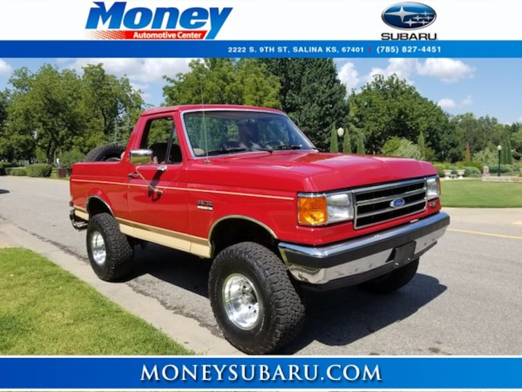 Used 1990 Ford Bronco SUV for sale in Salina, KS