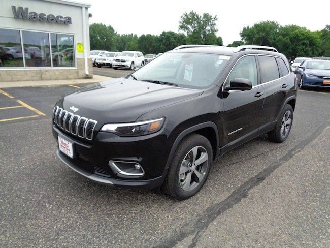 New 2019 Jeep Cherokee LIMITED 4X4 Sport Utility in Waseca, MN