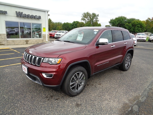 New 2018 Jeep Grand Cherokee LIMITED 4X4 Sport Utility in Waseca, MN