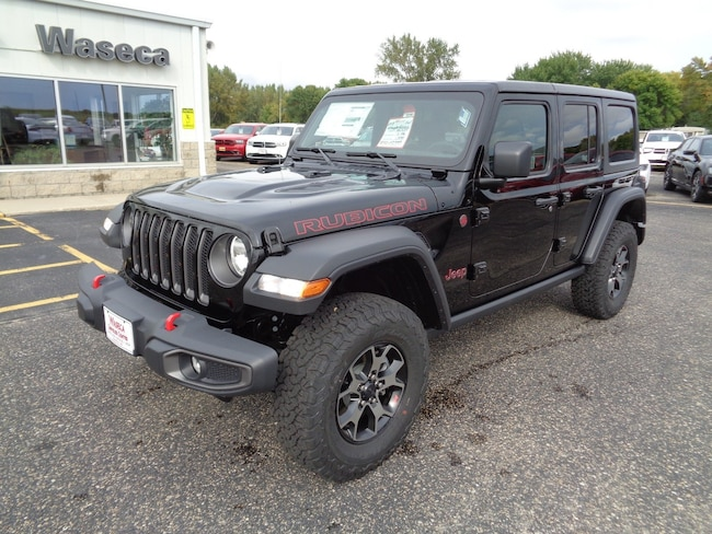 New 2018 Jeep Wrangler UNLIMITED RUBICON 4X4 Sport Utility in Waseca, MN