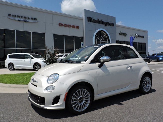 NEW 2018 FIAT 500 LOUNGE Hatchback for sale in Washington, NC