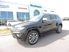 Used 2017 Jeep Grand Cherokee Overland 4x4 SUV in Greenville, NC