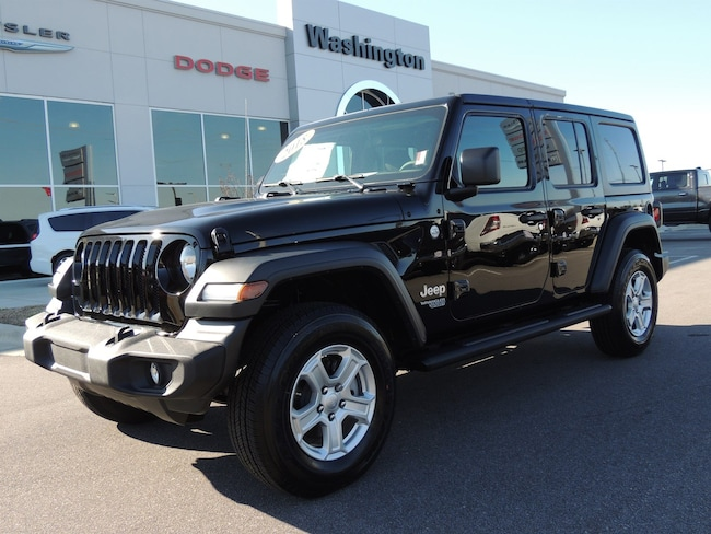 NEW 2018 Jeep Wrangler UNLIMITED SPORT S 4X4 Sport Utility for sale in Washington, NC