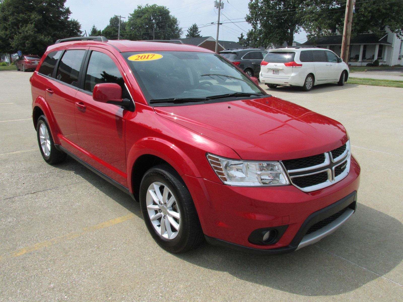 Used 2017 Dodge Journey SXT SUV for sale in Washington, IN