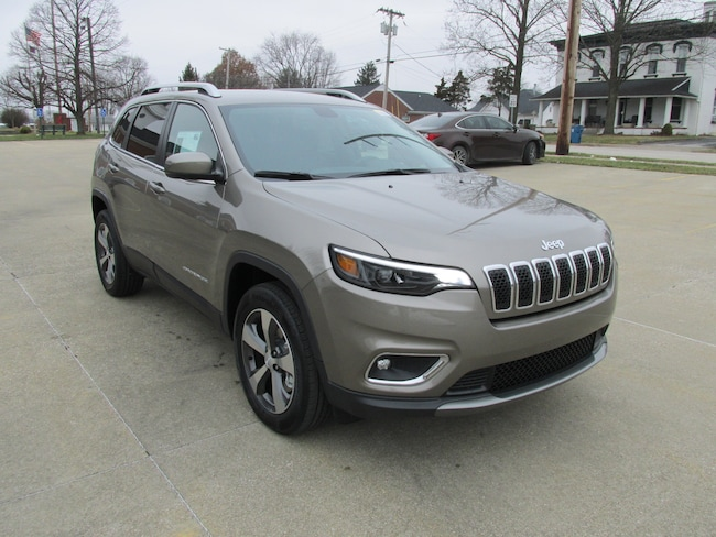 New  2019 Jeep Cherokee LIMITED 4X4 SUV For Sale Washington, IN